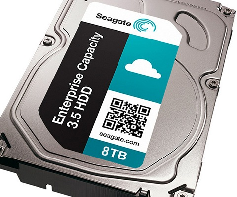 Seagate Enterprise Capacity 3.5 HDD 8 Тбайт