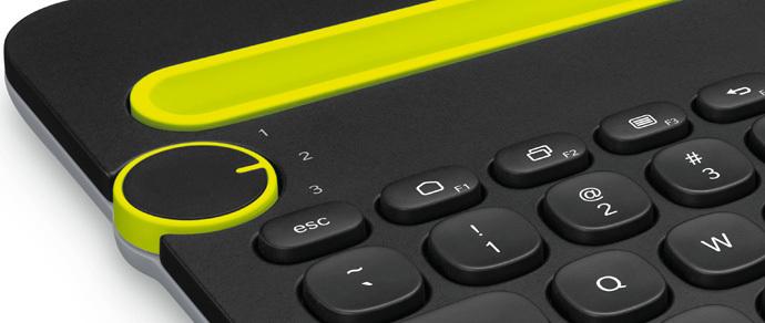 Logitech представила клавиатуру для одновременной работы с тремя устройствами