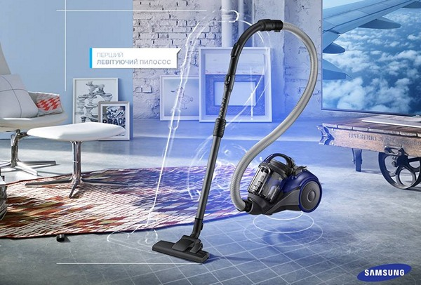 Samsung левитирующий пылесос