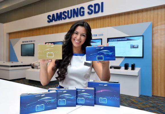 Новые батареи для электромобиля от Samsung SDI: 600 км на одном заряде