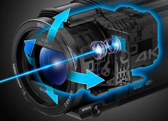 4K-видеокамера Sony Handycam FDR-AX53