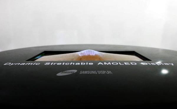 Растягиваемый OLED-дисплей Samsung