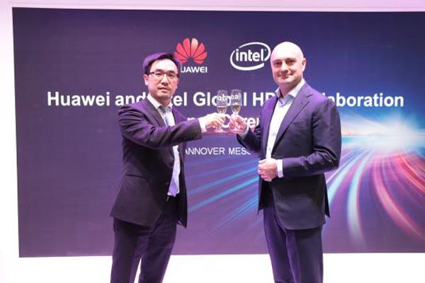 Huawei и Intel подписали меморандум о партнерстве